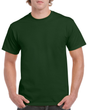 Men's Heavy Cotton Adult T-Shirt (Forest Green)