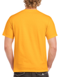 Men's Heavy Cotton Adult T-Shirt (Gold)