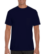 Men's Ultra Cotton Adult T-Shirt with Pocket (Navy)