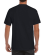 Men's Ultra Cotton Adult T-Shirt with Pocket (Black)