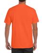 Men's Ultra Cotton Adult T-Shirt with Pocket (Safety Orange)