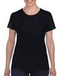 Women's Classic Short Sleeve T-Shirt (black)