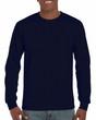 Men's DryBlend Adult Long Sleeve T-Shirt (Navy)