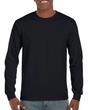 Men's DryBlend Adult Long Sleeve T-Shirt (Black)