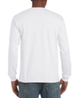 Men's DryBlend Adult Long Sleeve T-Shirt (White)