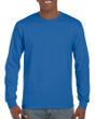 Men's DryBlend Adult Long Sleeve T-Shirt (Royal)