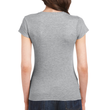 Women's Fitted Cotton T-Shirt (Sport Grey)