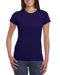 Women's Fitted Cotton T-Shirt (Navy)