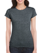 Women's Fitted Cotton T-Shirt (Dark Heather)