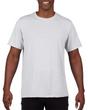 Men's Moisture Wicking Polyester Performance T-Shirt (White)