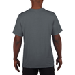 Men's Moisture Wicking Polyester Performance T-Shirt (Charcoal)