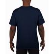 Men's Moisture Wicking Polyester Performance T-Shirt (Navy)