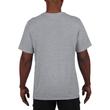 Men's Moisture Wicking Polyester Performance T-Shirt (Sport Grey)