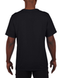 Men's Moisture Wicking Polyester Performance T-Shirt (Black)