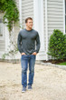 Men's Heavy Cotton Long Sleeve T-Shirt