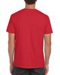 Men's Fitted Cotton T-Shirt (Red)