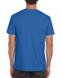 Men's Fitted Cotton T-Shirt (Royal)