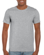 Men's Fitted Cotton T-Shirt (Rose Sport Grey)