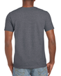 Men's Fitted Cotton T-Shirt (Dark Heather)