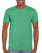Men's Fitted Cotton T-Shirt (Heather Irish Green)