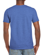 Men's Fitted Cotton T-Shirt (Heather Royal)