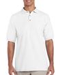 Men's Ultra Cotton Pique Sport Shirt (White)