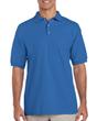 Men's Ultra Cotton Pique Sport Shirt (Royal)