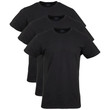 Men's Cotton Stretch T-Shirt (Black Soot)