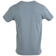 Men's Cotton Stretch T-Shirt (White/Black Soot/Grey Flannel)
