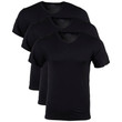 Men's Modal V-Neck T-Shirt (Black Soot)