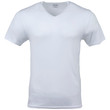 Men's Modal V-Neck T-Shirt (Artic White)