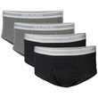 Men's Briefs Underwear (Grey/Black)