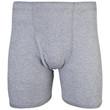 Men's Covered Waistband Boxer Brief (Mixed Garnet)