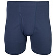Men's Covered Waistband Boxer Brief (Mixed Royal)
