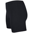 Men's Covered Waistband Boxer Brief (Black)