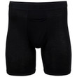 Men's Modal Regular Leg Boxer Brief (Black Soot/Slate Blue/Grey Flannel)