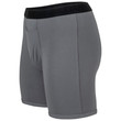 Men's Modal Regular Leg Boxer Brief (Grey Flannel)