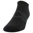 Men's Flat Knit No Show (Black/Merlot/Stone)