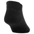 Men's Flat Knit Tab No Show (Black)