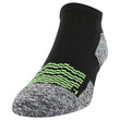 Men's Strategic Cushion No Show Sock (Black/Silver/Acid)