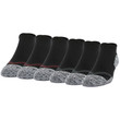 Men's Strategic Cushion Tab No Show (Black/Stone/Merlot)