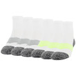 Men's Strategic Cushion Ankle (White/Acid/Silver)
