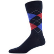 Men's Americana Argyle Dress Crew (Navy/Red Assorted)