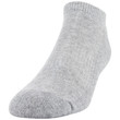 Men's Cotton No Show (Grey Heather)