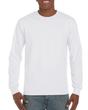 Gildan Hammer® Men's Adult Long Sleeve T-Shirt (White)