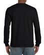 Gildan Hammer® Men's Adult Long Sleeve T-Shirt (Black)