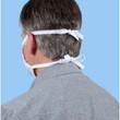 Gildan Reusable 3-Layer Self-Care Face Mask with Head Straps (White)