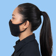 Gildan Reusable 2- Layer Everyday Face Mask with Ear Loops (Black)
