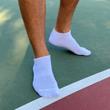 Men's Performance No Show Socks (White)