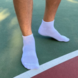 Men's Performance Ankle Socks (White)